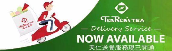 Ten Ren's Tea Is Coming To Your Door