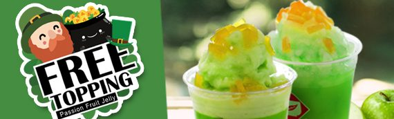 Free Topping! Happy St. Patrick Day