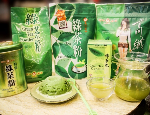 Power of Green Tea Powder