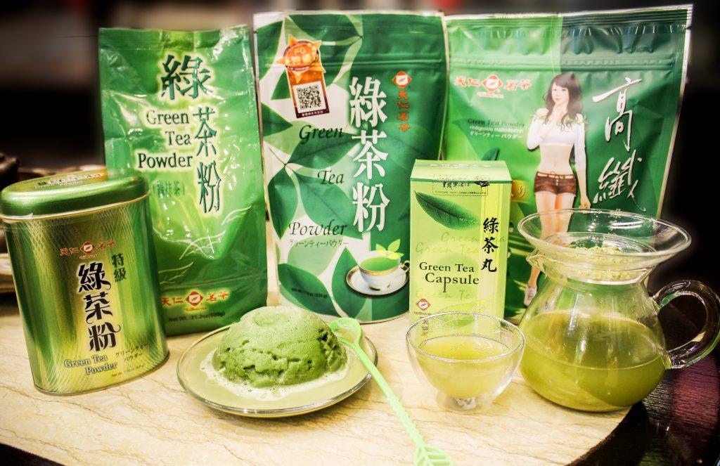 Power of Green Tea Powder