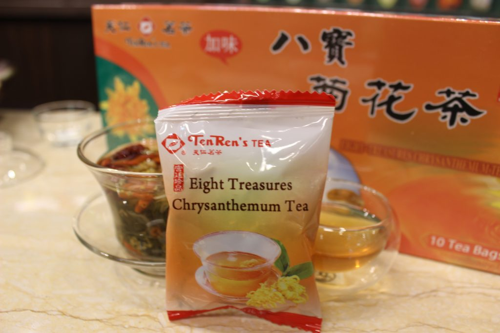 Eight Treasures Chrysanthemum Tea