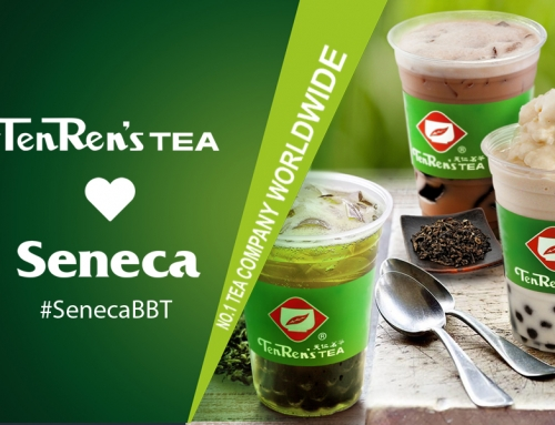 Ten Ren's Tea loves Seneca