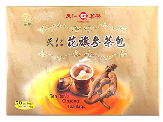 Ginseng Tea Bags – Ten Ren's Tea