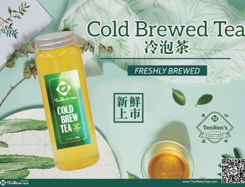 TenRen's Cold Brew Tea Smoother – Naturally Sweet – Balanced