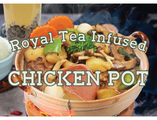 Royal Tea Infused Chicken Pot