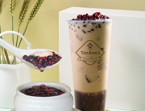 "Love Asian desserts? We are unveiling our new Red Bean Purple Rice Series – ""Red Bean Purple Rice Latte"" & ""Red Bean Purple Rice Soup""."